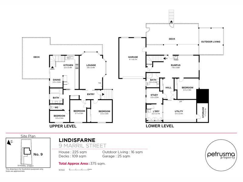 9 Marril Street, Lindisfarne, Tas 7015 - floorplan