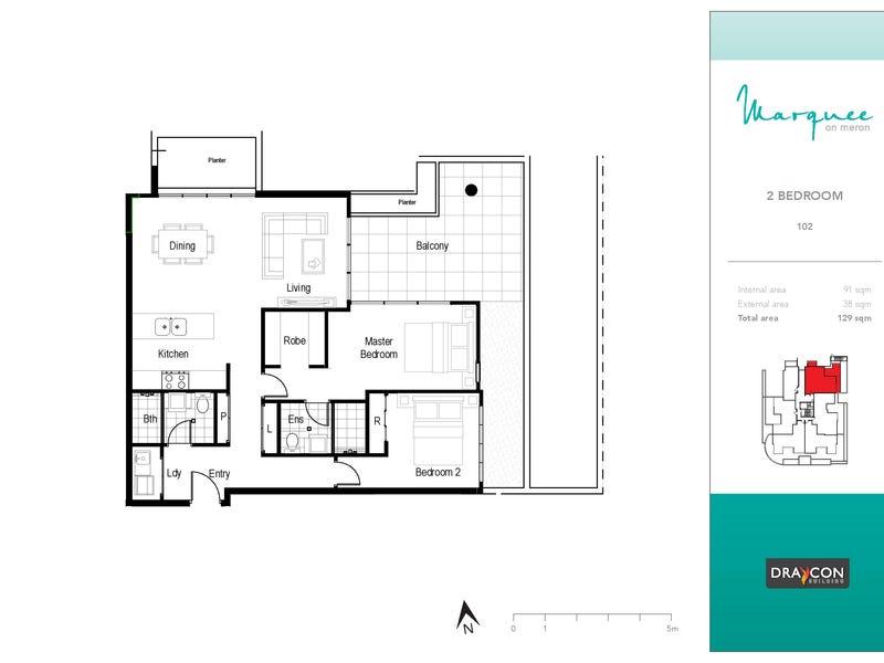 102/8 Meron Street, Southport, Qld 4215 - floorplan