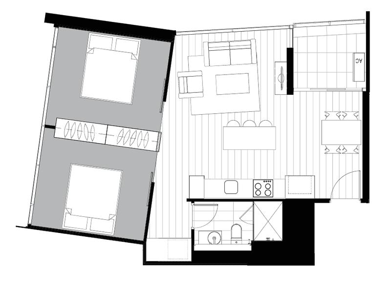 5202/33 Rose Lane, Melbourne, Vic 3000 - floorplan