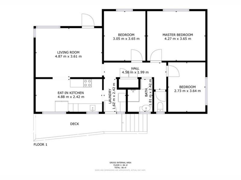 41 Gunn Street, Bridgewater, Tas 7030 - floorplan