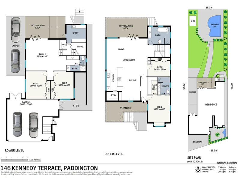 146 Kennedy Terrace, Paddington, Qld 4064 - floorplan