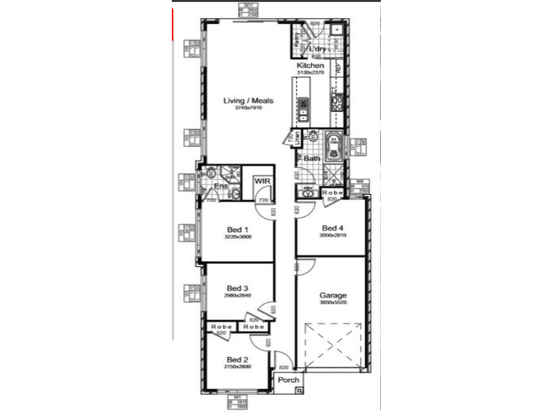 Austral, address available on request - floorplan