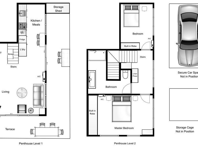 1112/447 Little Collins Street, Melbourne, Vic 3000 - floorplan