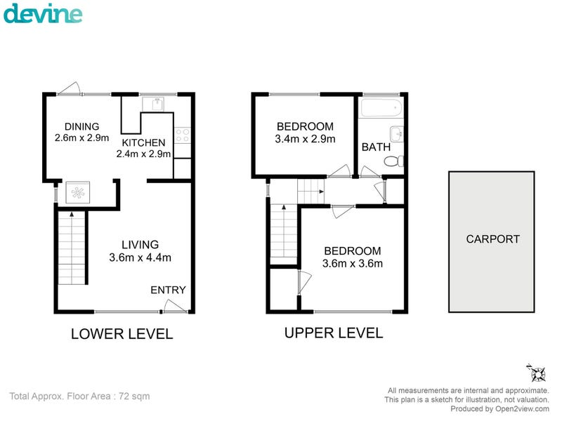 6/3 Clifford Court, Howrah, Tas 7018 - floorplan