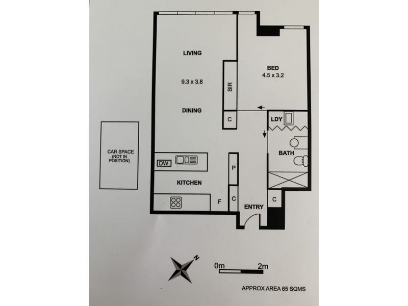 2208/1 Freshwater Place, Southbank, Vic 3006 - floorplan