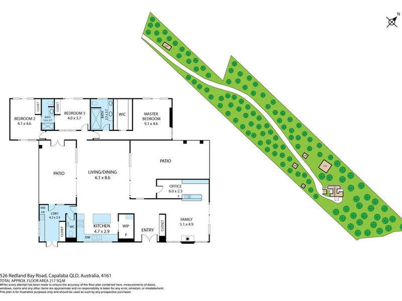 526-528 Redland Bay Road, Alexandra Hills, Qld 4161 - floorplan