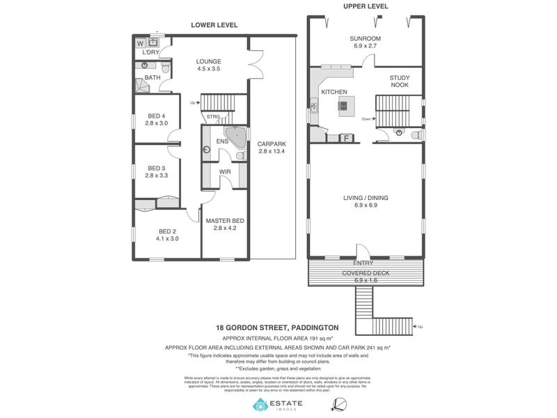 18 Gordon Street, Paddington, Qld 4064 - floorplan