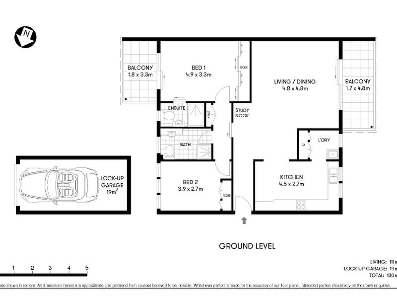 3/22 Whitton Road, Chatswood, NSW 2067 - floorplan