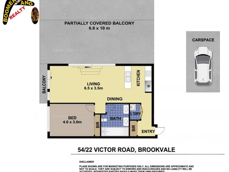 54/22 VICTOR RD, Brookvale, NSW 2100 - floorplan