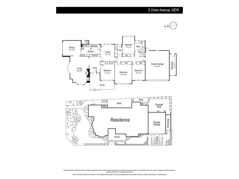 2 Victor Avenue, Kew, Vic 3101 - floorplan