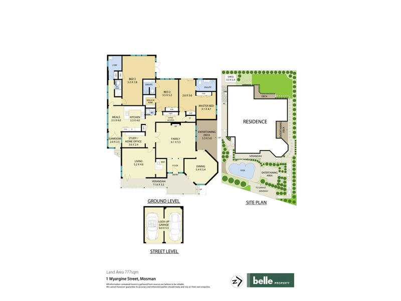 1 Wyargine Street, Mosman, NSW 2088 - floorplan