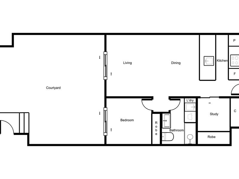 8/21 Dawes Street, Kingston, ACT 2604 - floorplan