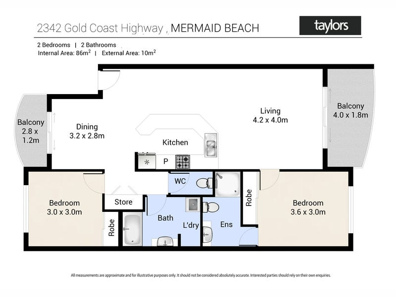1109/2342-2360 Gold Coast Highway, Mermaid Beach, Qld 4218 - floorplan