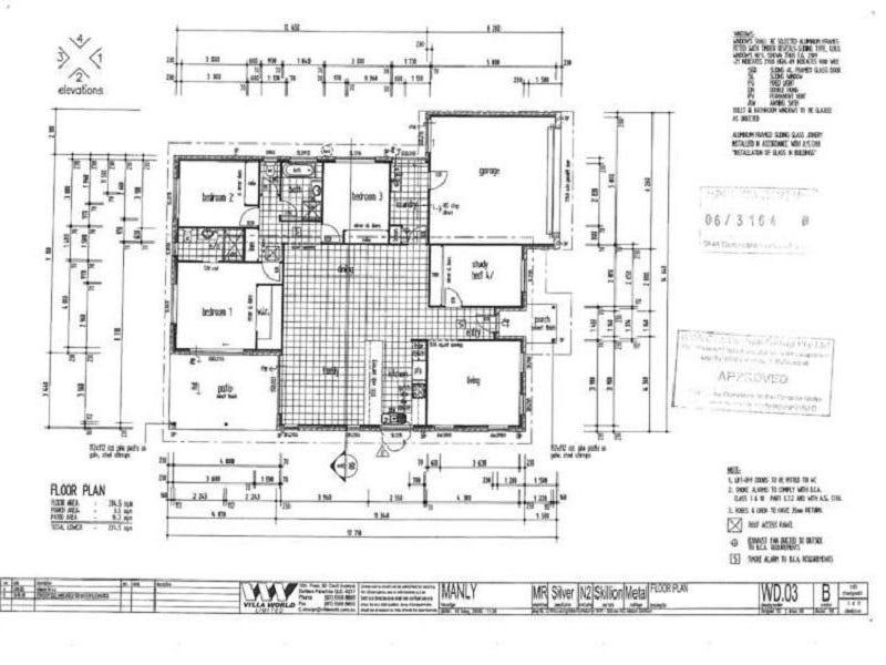 11 Calypso Court, Oxenford, Qld 4210 - floorplan