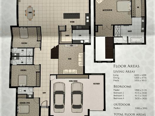 1080 Edgecliff Drive, Sanctuary Cove, Hope Island, Qld 4212 - floorplan