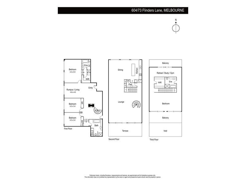 604/73 Flinders Lane, Melbourne, Vic 3000 - floorplan
