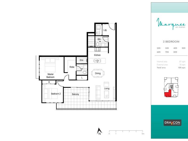 305/8 Meron Street, Southport, Qld 4215 - floorplan