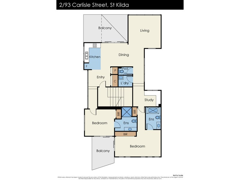 2/93 Carlisle Street, St Kilda, Vic 3182 - floorplan