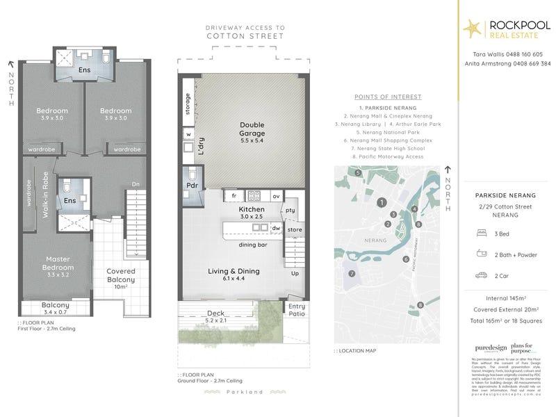 29a Cotton Street, Nerang, Qld 4211 - floorplan