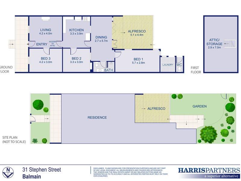 31 Stephen Street, Balmain, NSW 2041 - floorplan