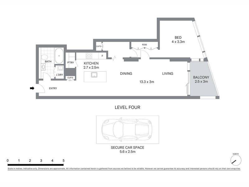 403/23 Shelley Street, Sydney, NSW 2000 - floorplan