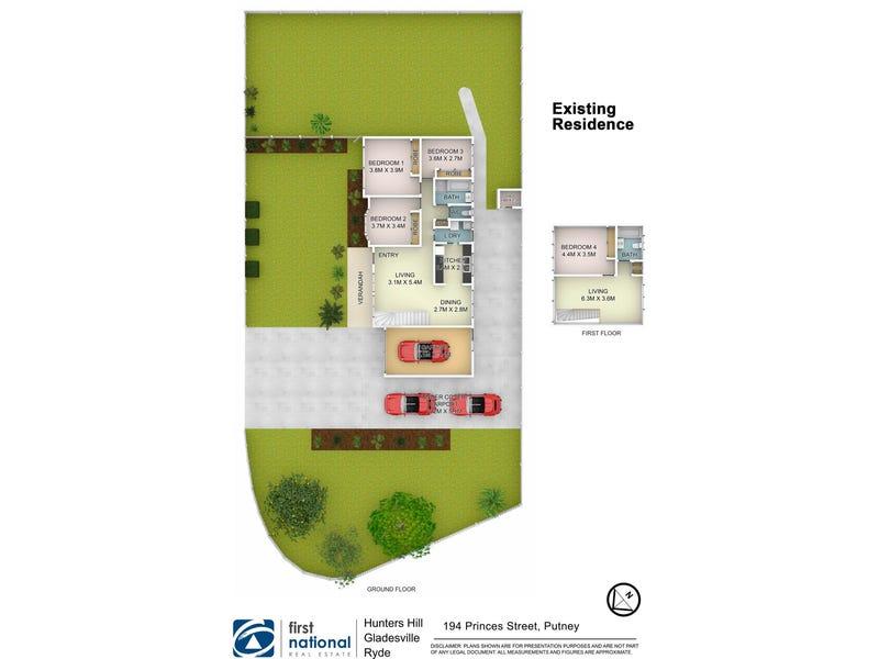 194 Princes Street, Putney, NSW 2112 - floorplan