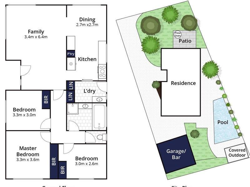 77 Richardson Drive, Mornington, Vic 3931 - floorplan