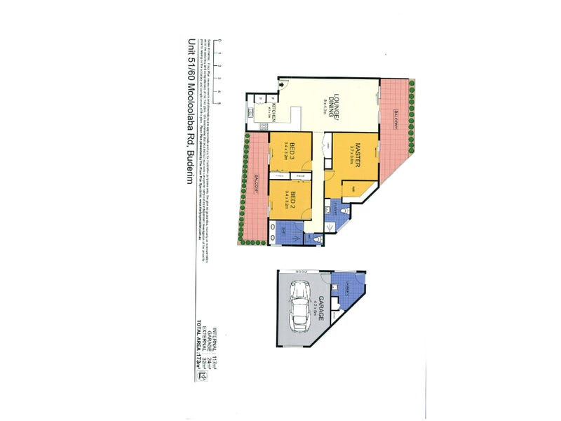 5/160 Mooloolaba Road, Buderim, Qld 4556 - floorplan