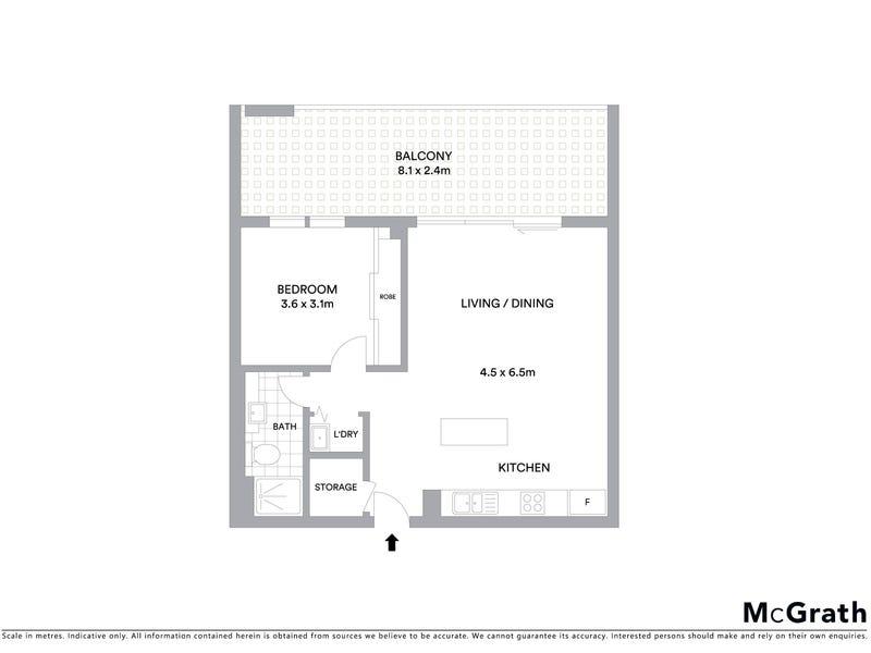 123/64 College Street, Belconnen, ACT 2617 - floorplan