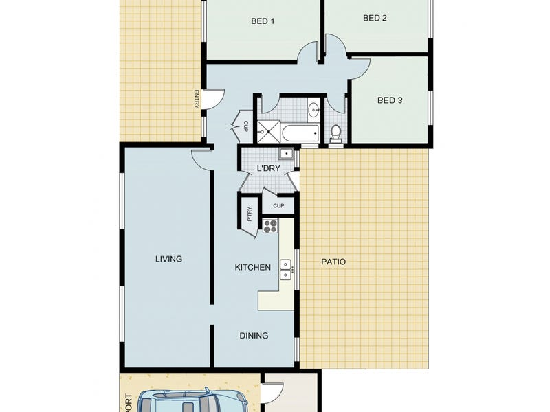 28 Emma Street, Bulgarra, WA 6714 - floorplan