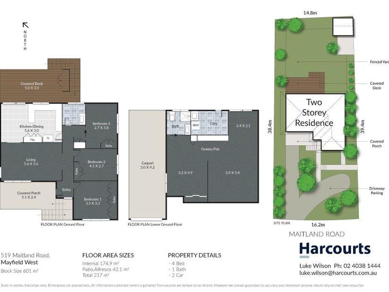 519 Maitland Road, Mayfield West, NSW 2304 - floorplan