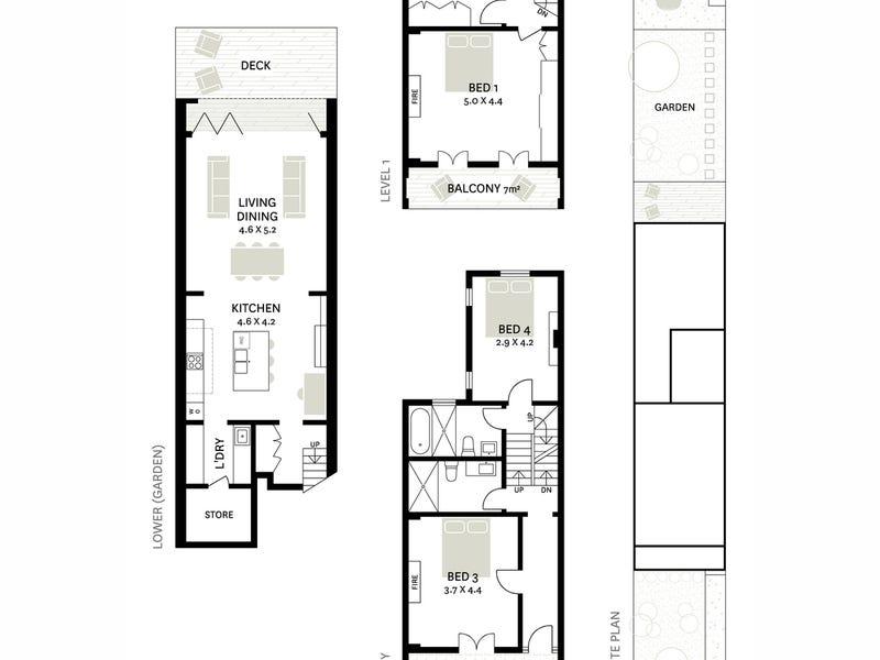 46 Hereford Street, Glebe, NSW 2037 - floorplan