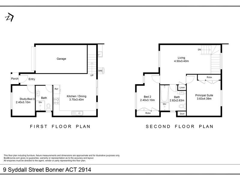 9 Syddall Street, Bonner, ACT 2914 - floorplan