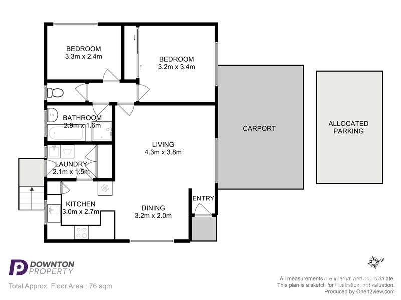 3/35 Cuthbertson Place, Lenah Valley, Tas 7008 - floorplan