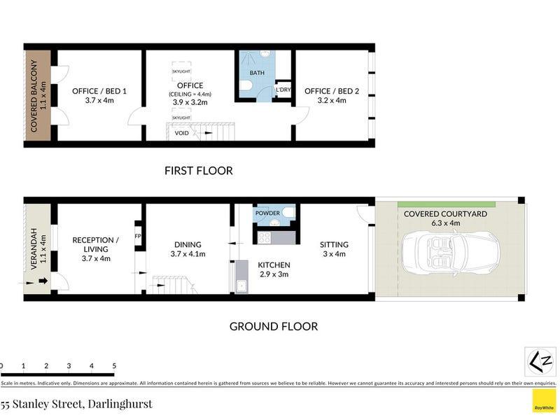 55 Stanley Street, Darlinghurst, NSW 2010 - floorplan