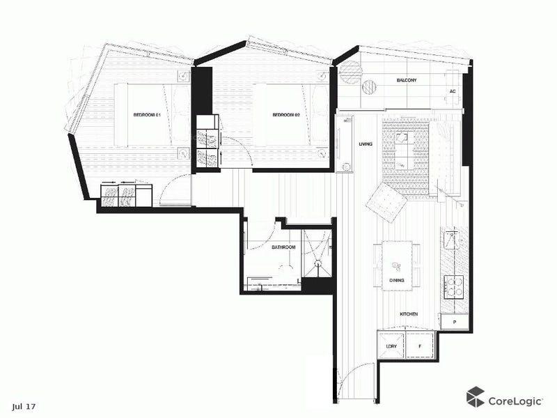 4704/442 Elizabeth Street, Melbourne, Vic 3000 - floorplan