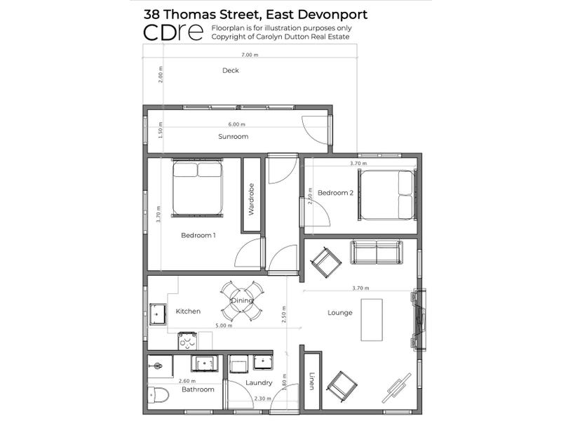 38 Thomas Street, East Devonport, Tas 7310 - floorplan