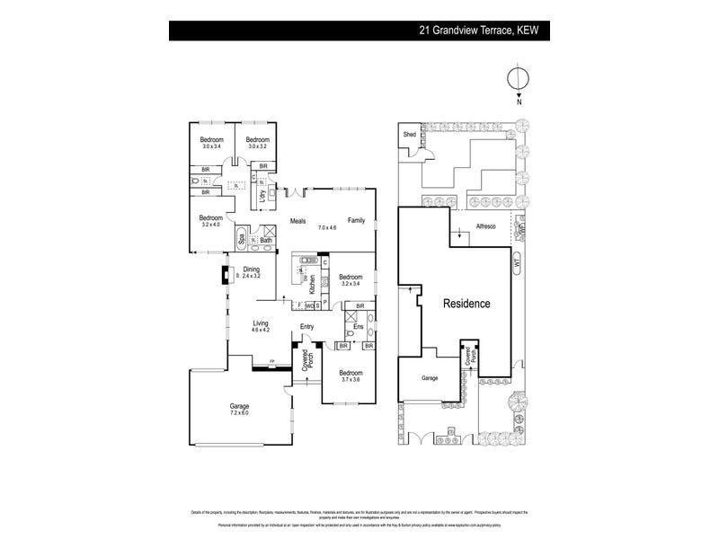 21 Grandview Terrace, Kew, Vic 3101 - floorplan