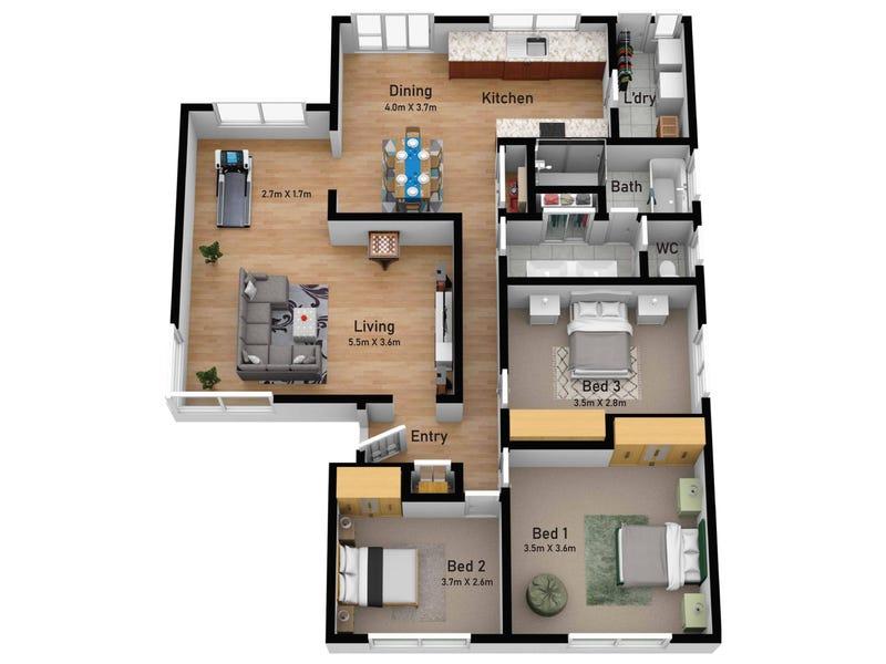 5 Ellaswood Court, Hampton Park, Vic 3976 - floorplan
