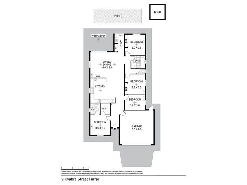 9 Kyabra St, Farrar, NT 0830 - floorplan