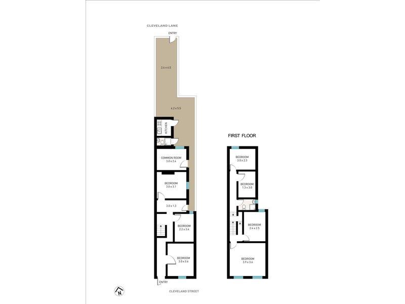 38 Cleveland Street, Chippendale, NSW 2008 - floorplan