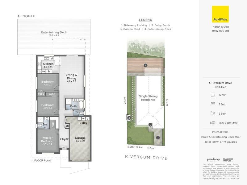 5 Rivergum Drive, Nerang, Qld 4211 - floorplan