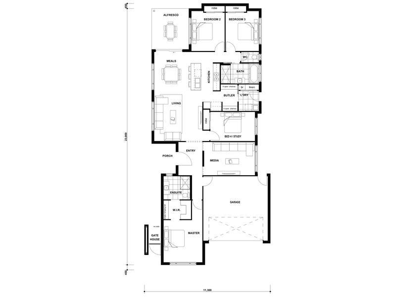 lot/684 Brookhaven Estate, Bahrs Scrub, Qld 4207 - floorplan