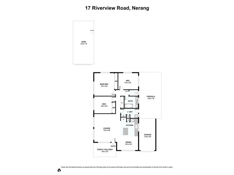 17 Riverview Road, Nerang, Qld 4211 - floorplan