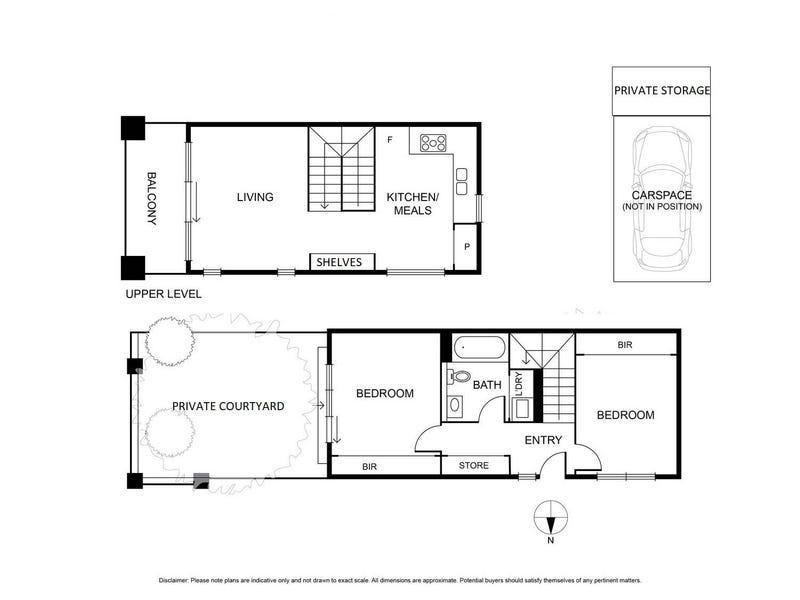 U3/5-7 Cecil Street, Kew, Vic 3101 - floorplan