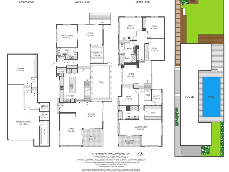 40 Fernberg Road, Paddington, Qld 4064 - floorplan