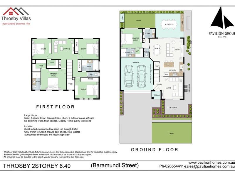 79 Barramundi Street, Throsby, ACT 2914 - floorplan