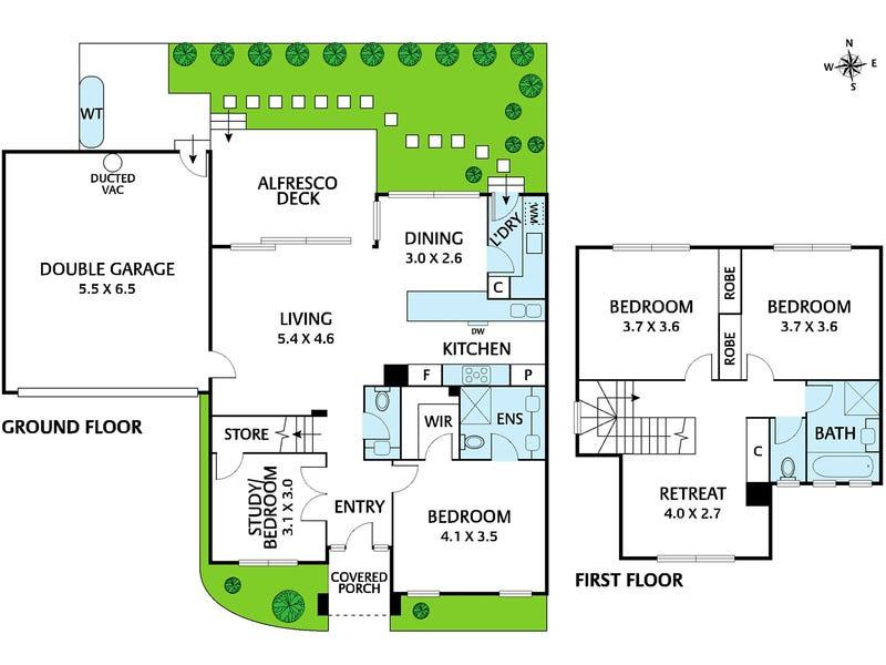 2/51 Cobden Street, Kew, Vic 3101 - floorplan