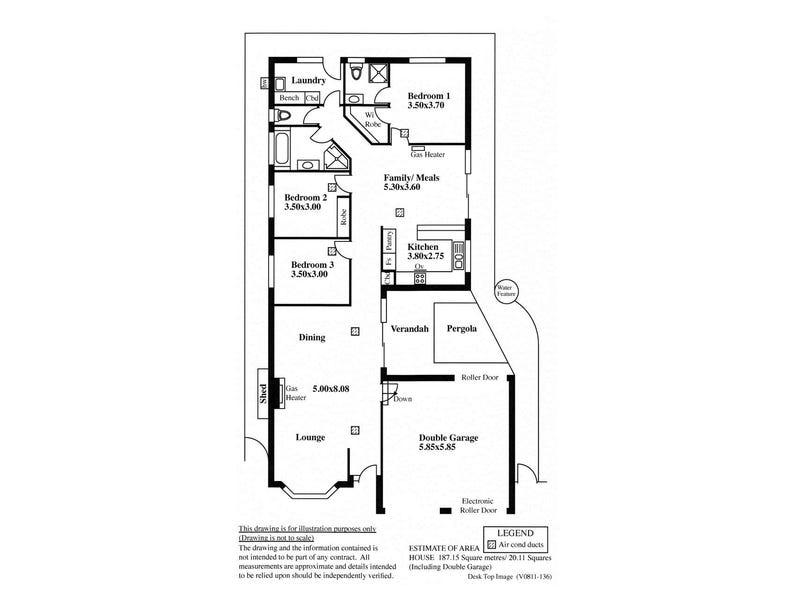 14 Cranbourne Drive, O'Halloran Hill, SA 5158 - floorplan