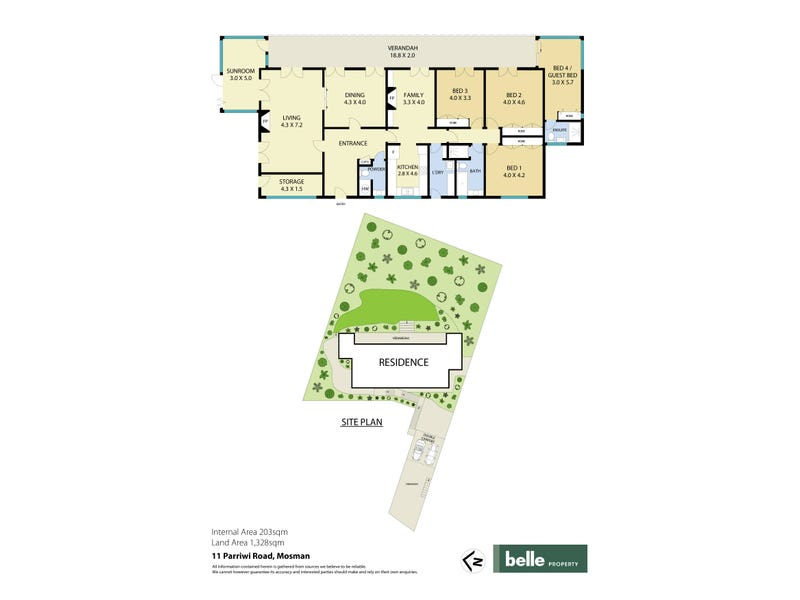 11 Parriwi Road, Mosman, NSW 2088 - floorplan